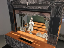 Toy theatre (detail)