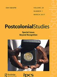 Postcolonial Studies Journal