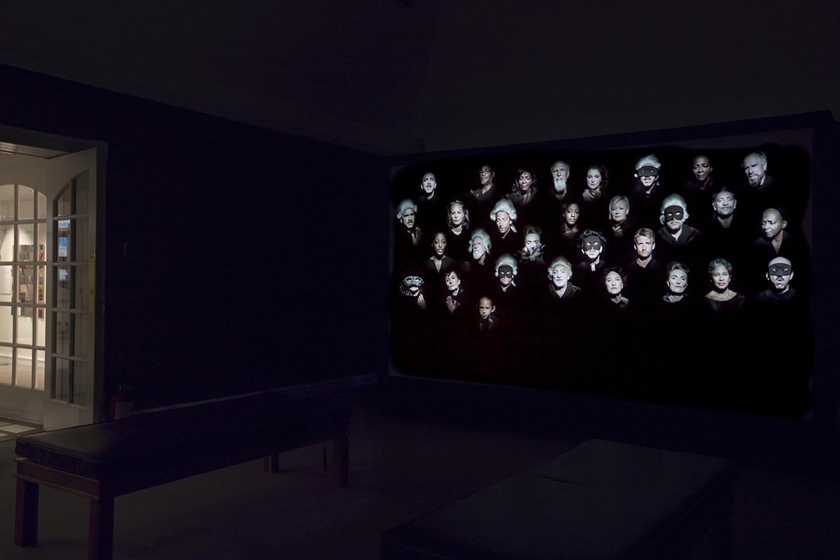 Black Mary video installation
