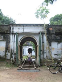 Entrance to Chaudhuri Buri