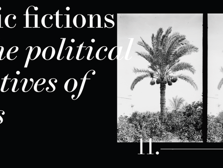 Gardner's work included in the Botanic Fictions project in Athens, Greece