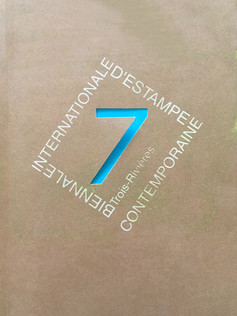 7 Biennale Internacionalle d'Estampe Contemporaine Trois Rivieres catalogue