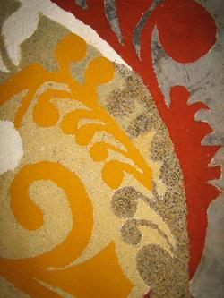 detail of kairy pattern