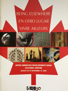 Being Elsewhere catalogue