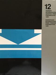 12 Norske Internasjonale Grafikk Triennale Fredrikstad Catalogue