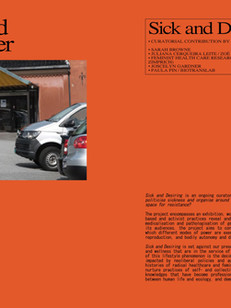 Sick and Desiring Exhibition Catalogue