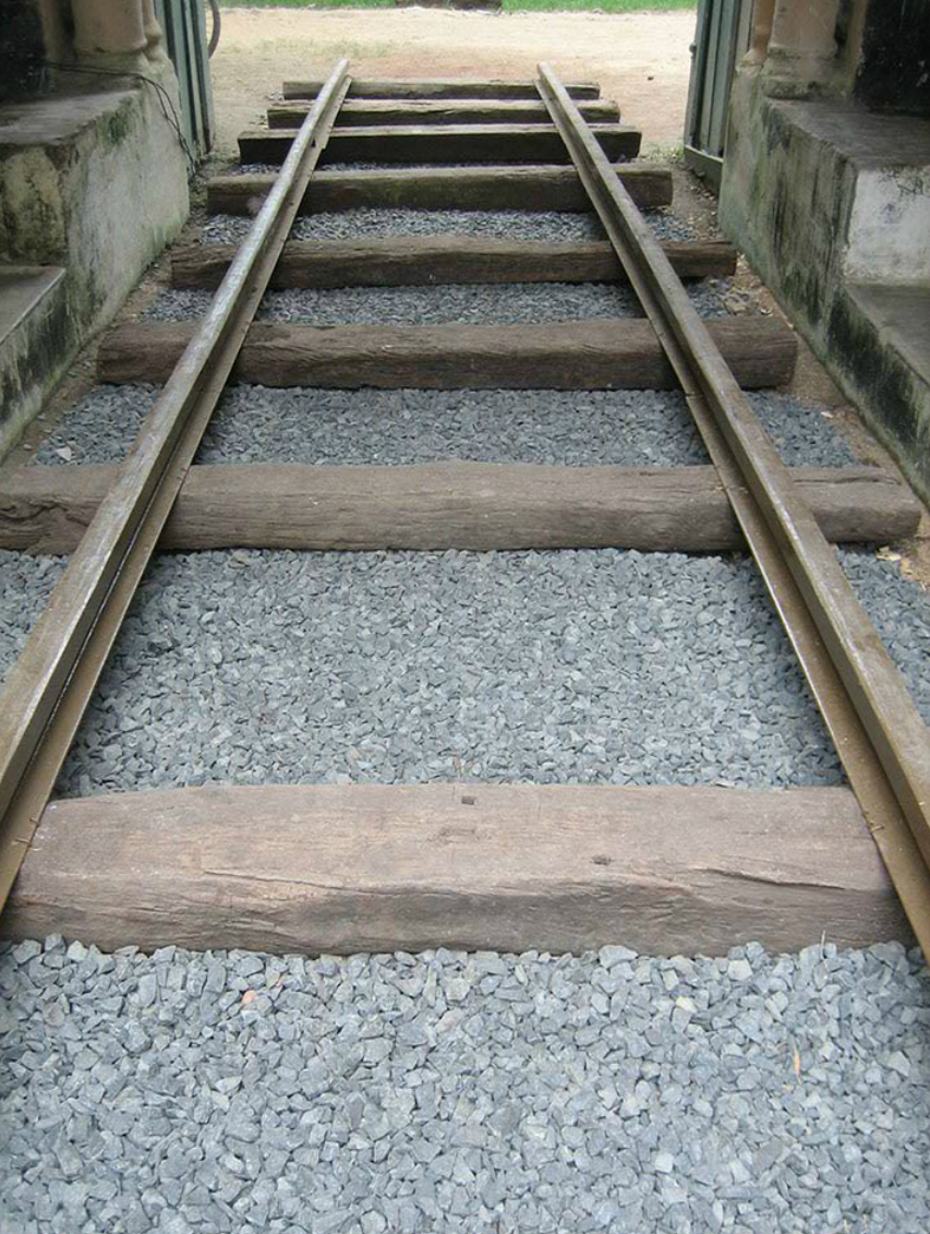 Detail showing railway