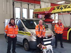 London Fire Brigade donate vehicle