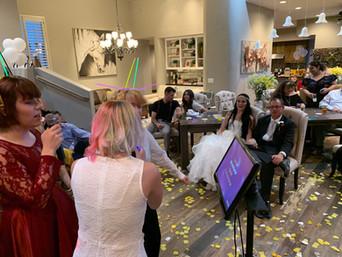 Wedding Photo with Karaoke