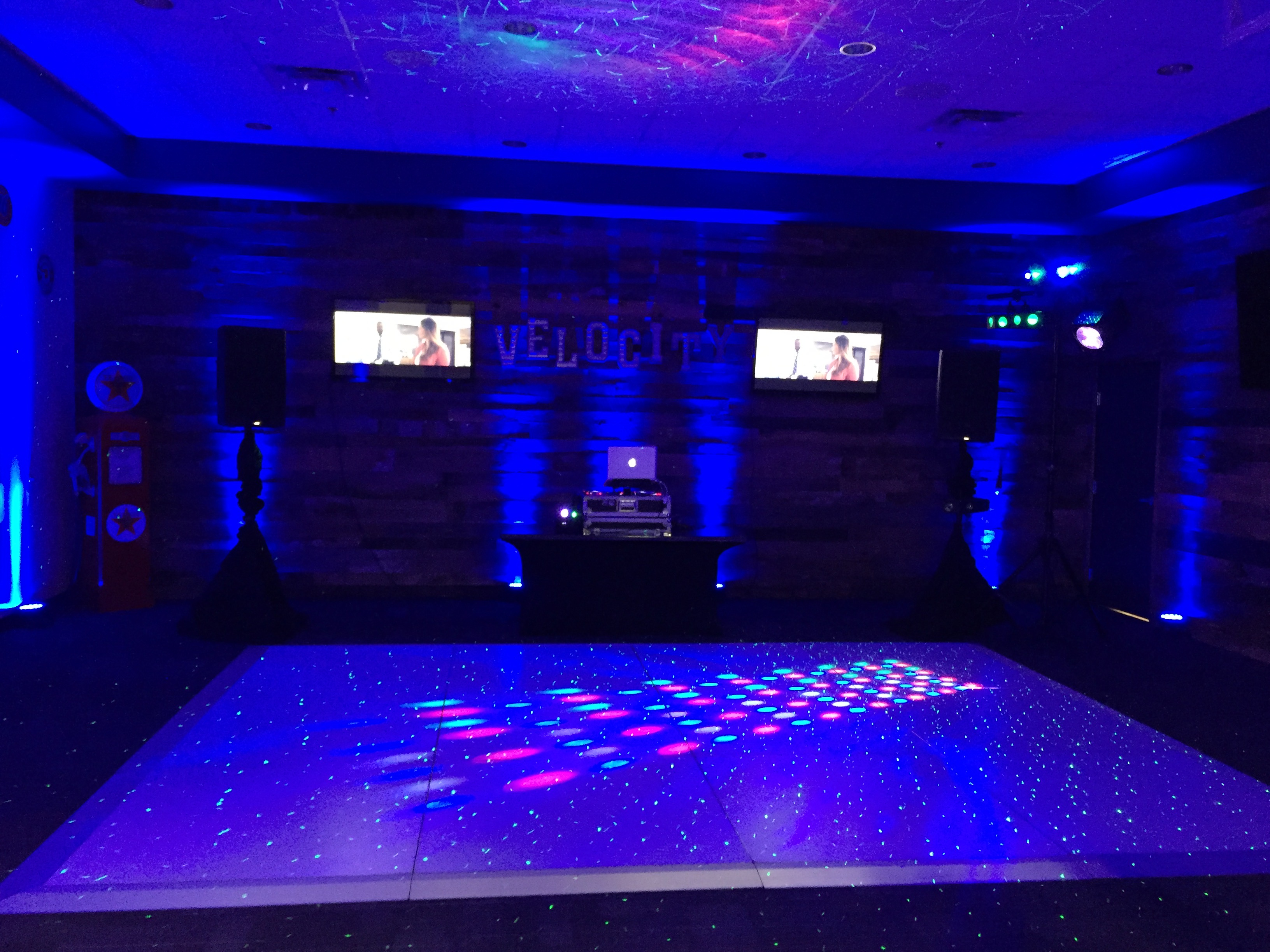 Graduation event with Video Dance party