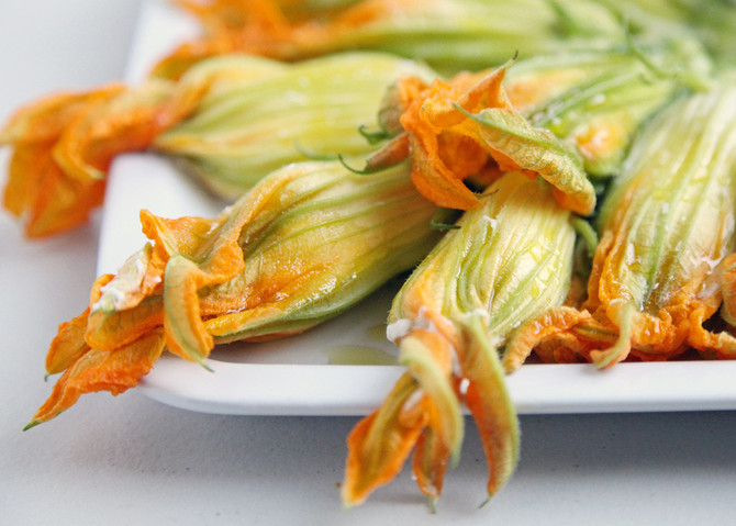 What can you do with a squash blossom?