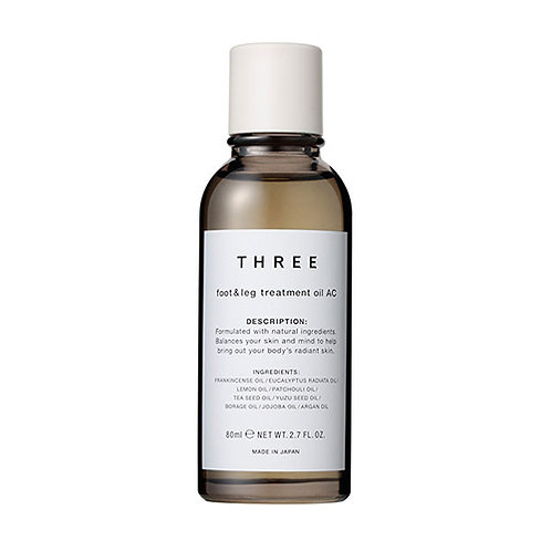 THREE Foot & Leg Treatment Oil AC R 80ml