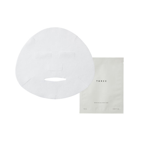 THREE Balancing Spa Sheet Mask