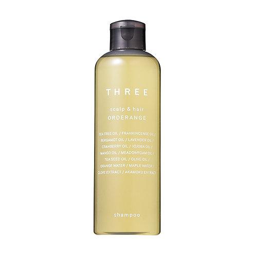 THREE Scalp & Hair Orderange Shampoo 250 ml