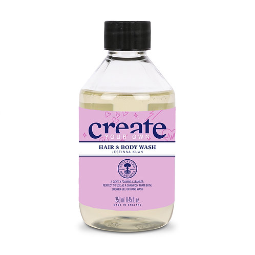 Jestinna Kuan - Create Your Own Hair & Body Wash