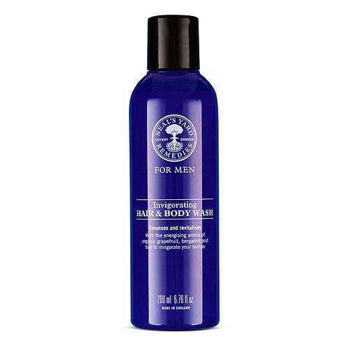 Men's Invigorating Hair & Body Wash