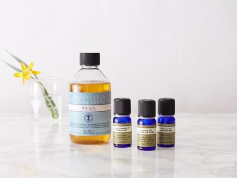 Create Your Own Bath Oil