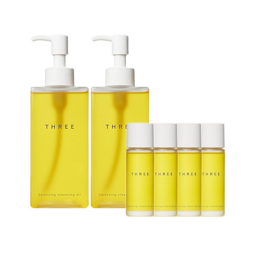 THREE Balancing Cleansing Oil DUO Pack
