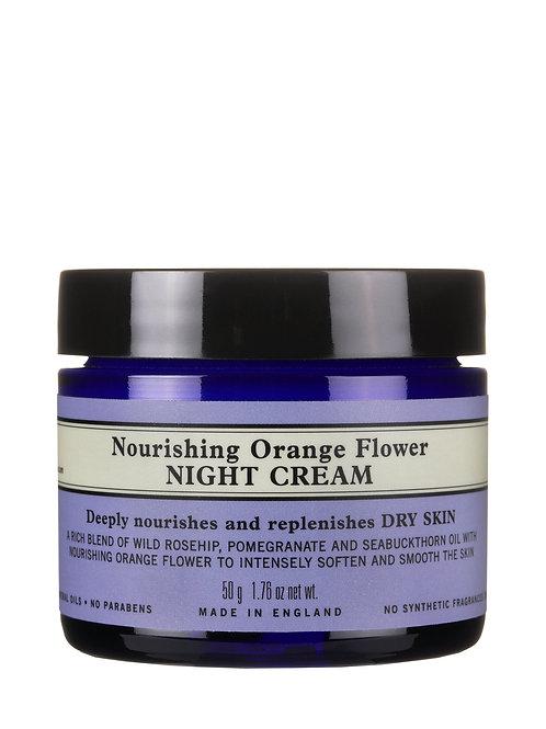 Nourishing Orange Flower Night Cream