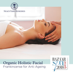 Muka Holistik Organik - Frankincense untuk Anti-penuaan