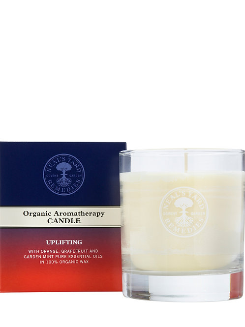 Uplifting Organic Aromatherapy Candle