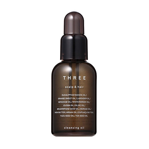 THREE Scalp & Hair Cleansing Oil 60ml