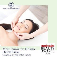 Most Innovative Holistic Detox Facial - Organic Lymphatic Facial