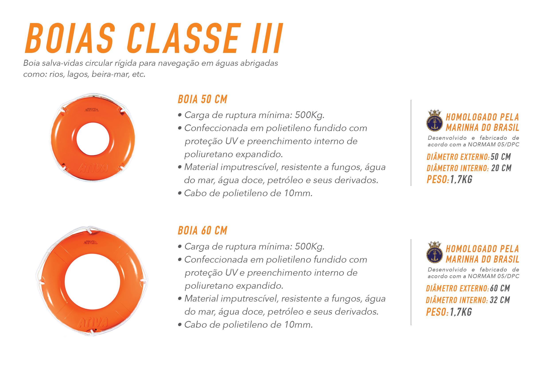 Ativa Boias Classe III