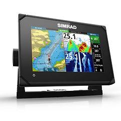 Sonar_com_GPS_Simrad_GO7_XSR_Touchscreen