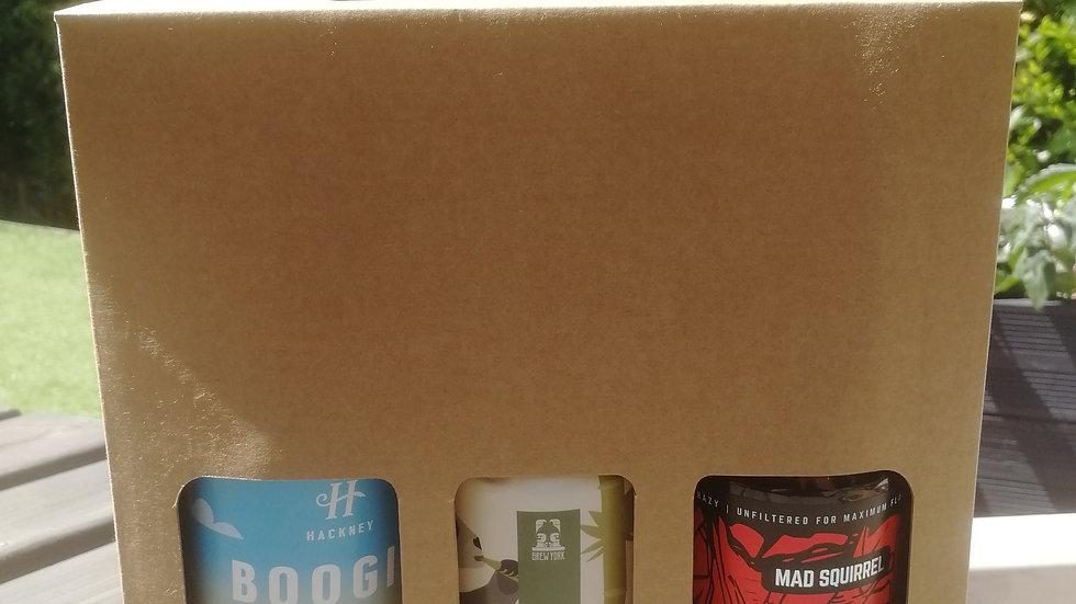 Gift Box IPA cans