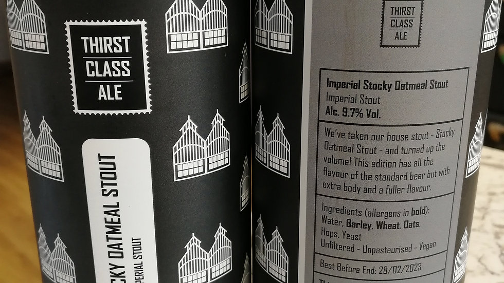 Thirst Class - Imperial Stocky Oatmeal Stout