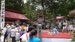 2017.7.2金蛇水神社 奉納演奏