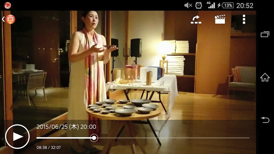 2015.6.25 ゆと森倶楽部 暖炉ライブ