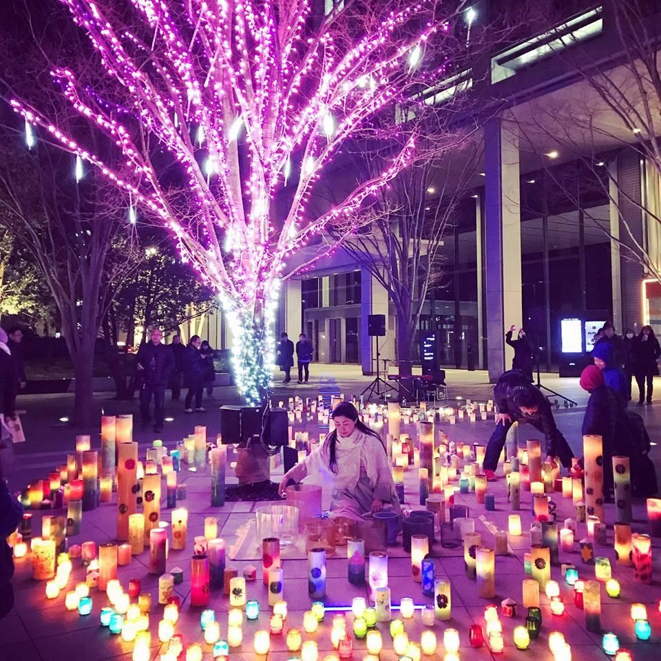2018.3.9-11 希望のひかりキャンドルナイト 仙台トラストシティ2