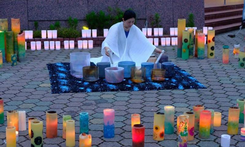 2018.7希望のひかり モノづくり市キャンドルナイト in東松島市2