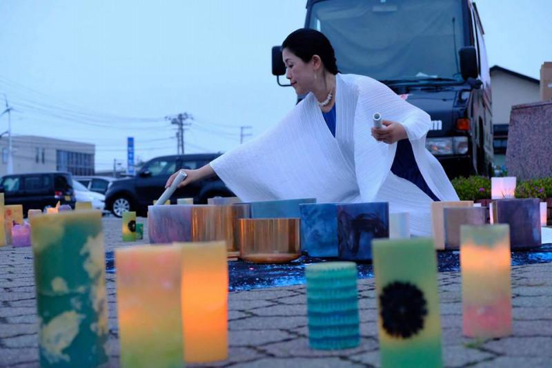2018.7希望のひかり モノづくり市キャンドルナイト in東松島市3