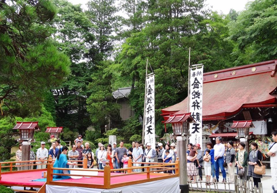 2015.7.5 金蛇水神社 弁財天例祭