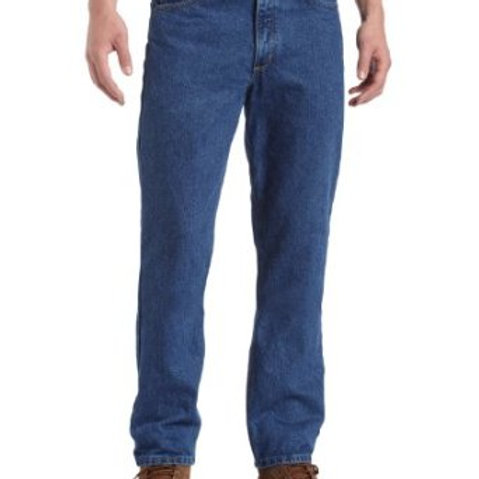 Carhartt Straight/Traditional-Fit Tapered-Leg Jean B18 DST/STW