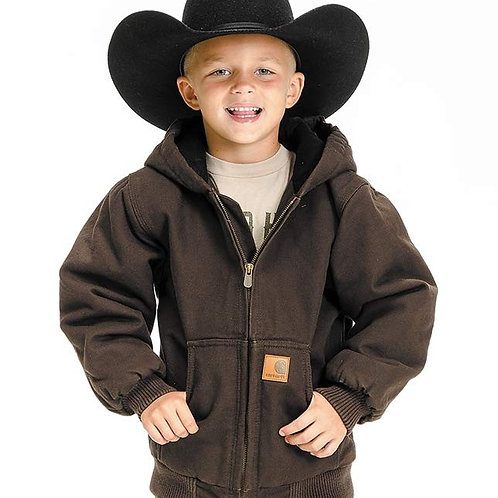 Carhartt Boy's Cotton Duck Active Jacket