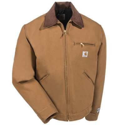 CARHARTT J001/J01 DUCK DETROIT JACKET / BLANKET LINED