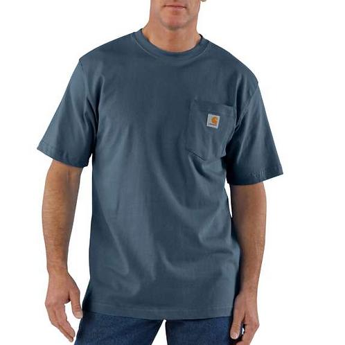 Carhartt Workwear Pocket T-Shirt BLS - BLUESTONE