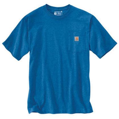 Carhartt Workwear Pocket T-Shirt K87-H11 Light Cobalt Heather