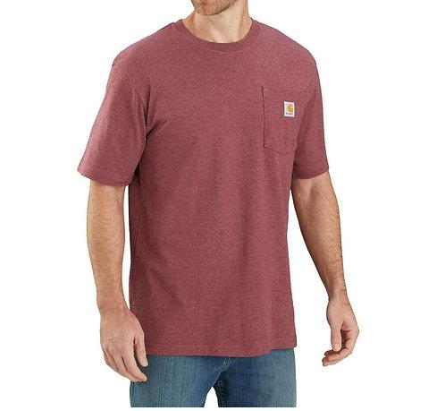 Carhartt Workwear Pocket T-Shirt R19 Iron Ore Heather