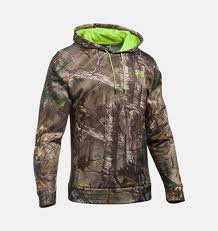 Under Armour Scent Control Camo Men's Hunting Hoodie