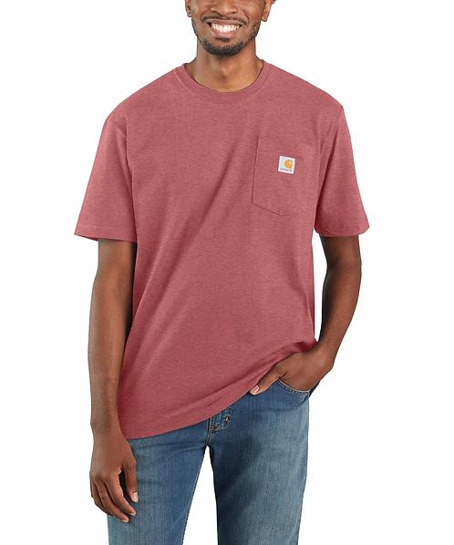 Carhartt Workwear Pocket T-Shirt K87-P11 Blush Pink Heather