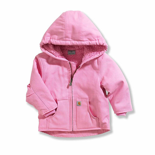 CARHARTT INFANT/TODDLER REDWOOD JACKET SHERPA LINED