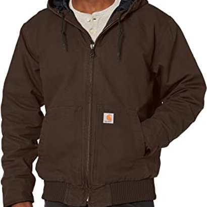 CARHARTT 104050 WASHED DUCK INSULATED ACTIVE JAC