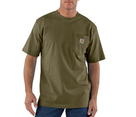 Carhartt Workwear Pocket T-Shirt ARG - Army Green