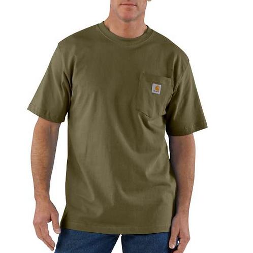 Carhartt Workwear Pocket T-Shirt ARG - Army Green