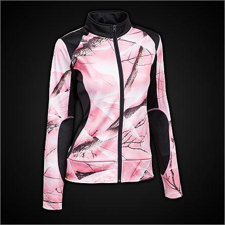 Huntworth Performance Fleece Pink Camo Jacket